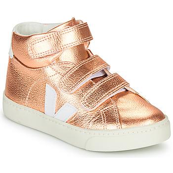 Schuhe Mädchen Sneaker High Veja SMALL-ESPLAR-MID Golden