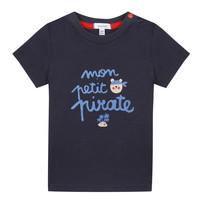 Kleidung Jungen T-Shirts Absorba NADINE Marineblau