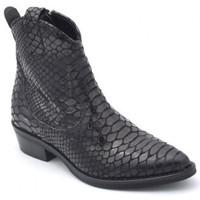 Chaussures Femme Bottines Semerdjian mu7411 Noir