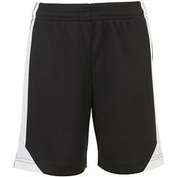 Vêtements Enfant Shorts / Bermudas Sols 01720 Noir/Blanc