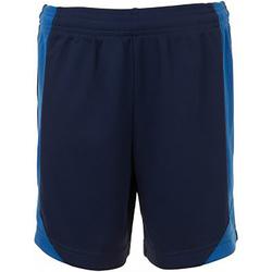 Vêtements Enfant Shorts / Bermudas Sols 01720 Bleu marine/Bleu roi