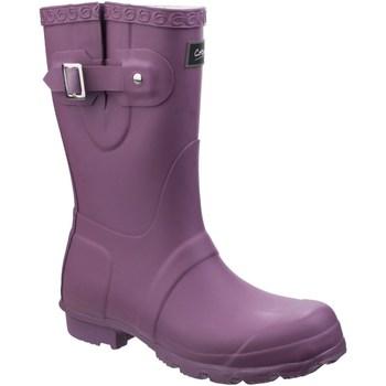 Chaussures Femme Bottes de pluie Cotswold  Violet