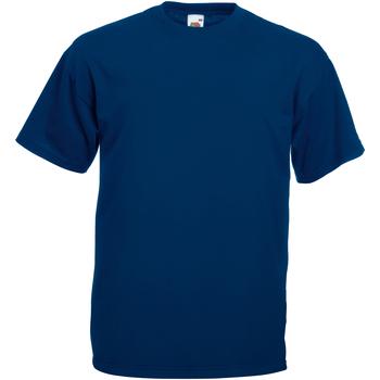 Vêtements Homme T-shirts manches courtes Universal Textiles Casual Bleu marine
