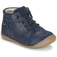 Chaussures Fille Boots GBB OLSA VTC MARINE POIS OR DPF/KEZIA