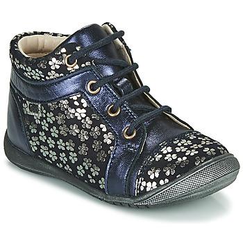 Chaussures Fille Boots GBB OMANE CTV MARINE-IMPR FLEUR DPF/KEZIA