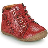 Chaussures Fille Boots GBB DAVIA VTV ROUGE-ARGENT DPF/KEZIA