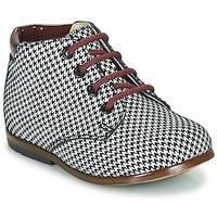 Chaussures Fille Boots GBB TACOMA VTV PIED POULE NOIR DPF/NODEO