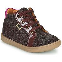 Chaussures Fille Baskets montantes GBB FAMIA VTV BORDO ROSE DPF/MESSI