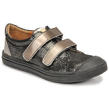 Chaussures Fille Baskets basses GBB NOELLA VTE NOIR-BRONZE DPF/MILENA
