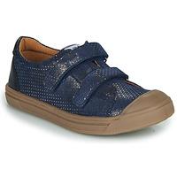 Chaussures Fille Baskets basses GBB NOELLA VTE MARINE-POIS DPF/MILENA