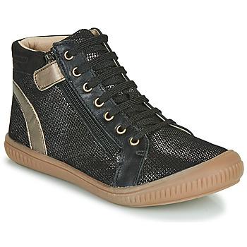 Chaussures Fille Baskets montantes GBB RACHIDA VTU NOIR-BRONZE DPF/FRANCA