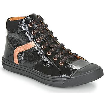 Chaussures Fille Baskets montantes GBB VIVENA VCT NOIR DPF/MILENA
