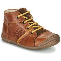 Chaussures Garçon Boots GBB OULOU VTC MARRON DPF/RAIZA