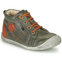 Chaussures Garçon Boots GBB OLAN NUV GRIS DPF/RAIZA