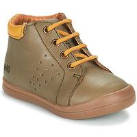 Chaussures Garçon Baskets montantes GBB TIDO VTE KAKI DPF/TOODOU