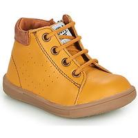 Chaussures Garçon Boots GBB FOLLIO VTE MOUTARDE DPF/MESSI