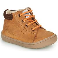 Chaussures Garçon Boots GBB FOLLIO NUB MARRON DPF/MESSI