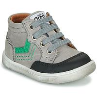 Chaussures Garçon Baskets montantes GBB VIGO VTU GRIS DPF/MESSI