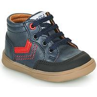 Chaussures Garçon Baskets montantes GBB VIGO VTE MARINE DPF/MESSI