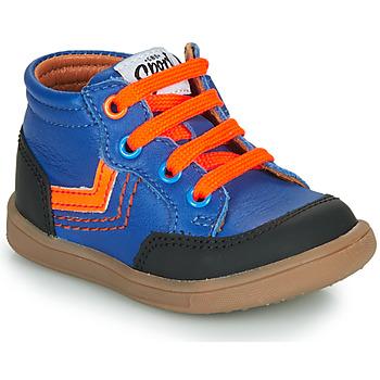 Chaussures Garçon Baskets montantes GBB VIGO VTU BLEU DPF/MESSI