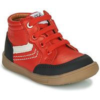 Chaussures Garçon Baskets montantes GBB VIGO VTU ROUGE DPF/MESSI