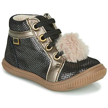 Chaussures Fille Baskets montantes GBB ISAURE Noir