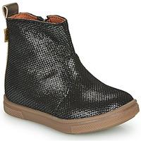 Chaussures Fille Boots GBB ERNA VTE NOIR-BRONZE DPF/TRILLY