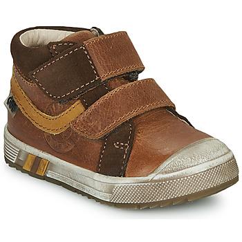 Chaussures Garçon Baskets montantes GBB OMALLO VTC MARRON DPF/BOSS CAPOT