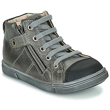 Chaussures Garçon Baskets montantes GBB KAMIL NUV GRIS DPF/TRILLY
