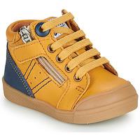 Chaussures Garçon Baskets montantes GBB ANATOLE VTE MOUTARDE DPF/ROSARIO