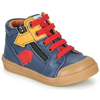 Chaussures Garçon Baskets montantes GBB IONNIS VTE MARINE DPF/ROSARIO
