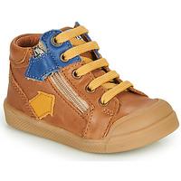 Chaussures Garçon Baskets montantes GBB IONNIS VTE CAMEL DPF/ROSARIO