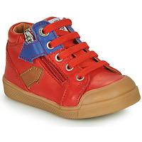 Chaussures Garçon Baskets montantes GBB IONNIS VTE ROUGE DPF/ROSARIO