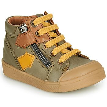 Chaussures Garçon Baskets montantes GBB IONNIS VTE KAKI DPF/ROSARIO