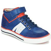 Chaussures Garçon Baskets montantes GBB ALIMO VTC BLEU DPF/REAL