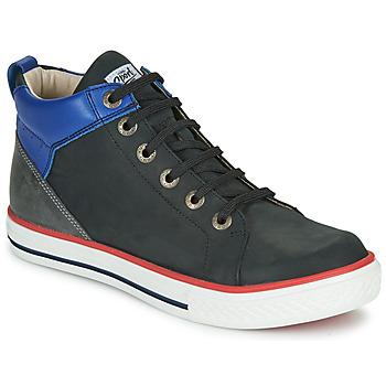 Chaussures Garçon Baskets montantes GBB MERINO VTU NOIR DPF/REAL