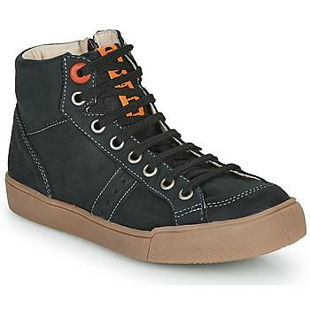 Chaussures Garçon Baskets montantes GBB OSTRAVI VTC NOIR DPF/WHITE
