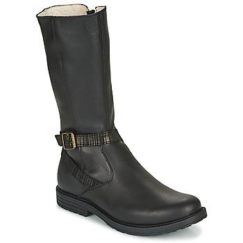 Chaussures Fille Bottes ville GBB OKINDI Noir