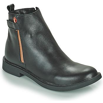 Chaussures Fille Boots GBB XIANA VTE NOIR DPF/FATA