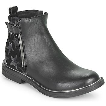 Chaussures Fille Boots GBB XIANA VTE NOIR-ETOILE DPF/FATA