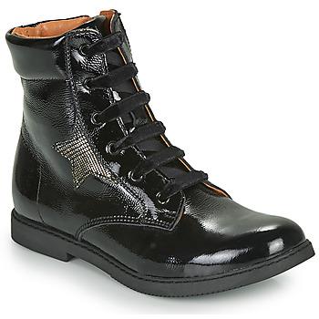 Chaussures Fille Boots GBB JAMILA VVN NOIR DPF/2824