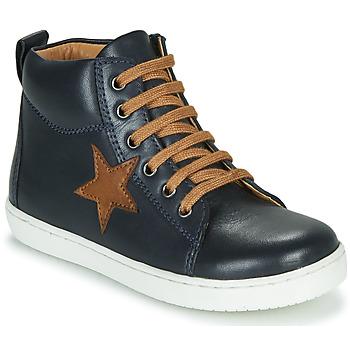 Chaussures Garçon Baskets montantes GBB KANY Marine