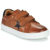Chaussures Garçon Baskets basses GBB DANAY VTE MARRON DPF/GARCON