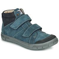 Chaussures Garçon Baskets montantes GBB HENI NUV BLEU CANARD DPF/EZIO