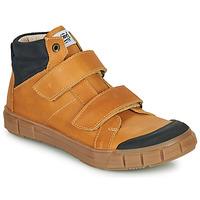 Chaussures Garçon Baskets montantes GBB HENI VTE OCRE DPF/EZIO