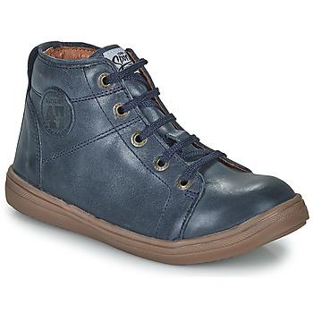 Chaussures Garçon Baskets montantes GBB KELIG VTE MARINE DPF/2835