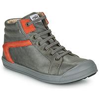 Chaussures Garçon Baskets montantes GBB IWEN NUV GRIS DPF/460