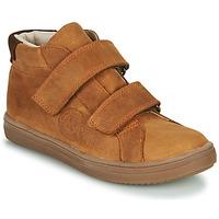 Chaussures Garçon Baskets montantes GBB NAZAIRE NUB CAMEL DPF/2835