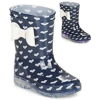 Chaussures Fille Bottes de pluie Be Only AMOUR FLASH