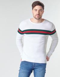 Kleidung Herren Pullover Yurban MIRANDA Weiß